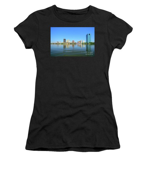 D12u-673 Toledo Ohio Skyline Photo Women's T-Shirt