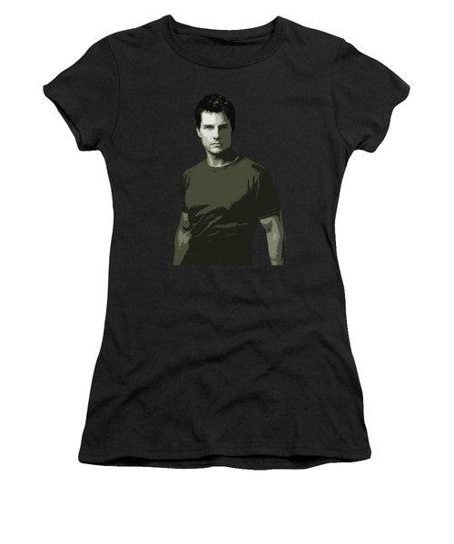 Tom Cruise Cutout Art Women's T-Shirt