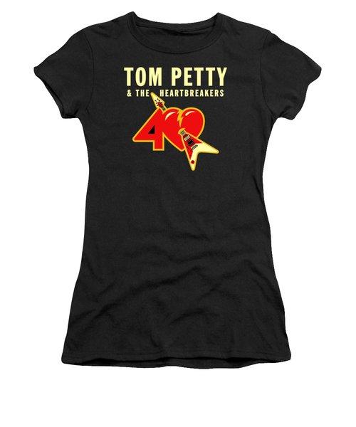 Tom Petty 40th Anniversary Women's T-Shirt