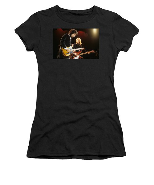 Tom Petty And Mike Campbell Women's T-Shirt