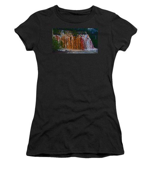 Tombs Land Formation Women's T-Shirt