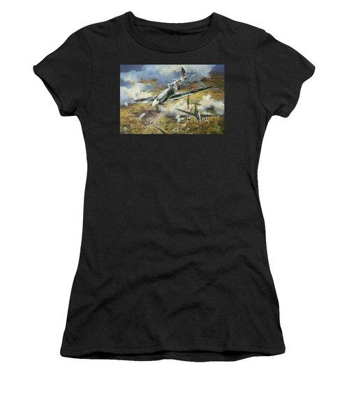Tony Gaze Unsung Hero Women's T-Shirt (Athletic Fit)