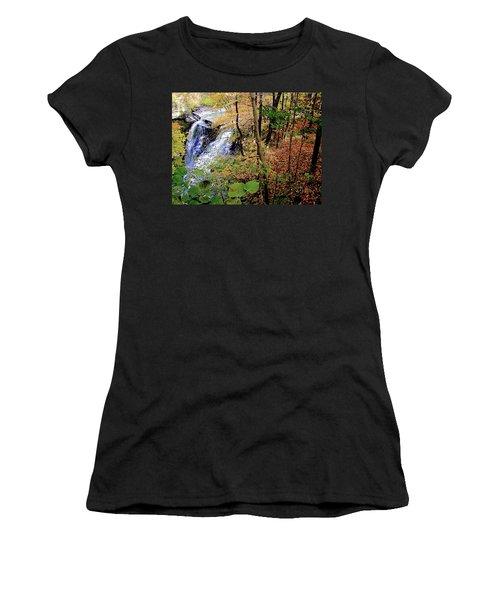Top Of The Falls Women's T-Shirt