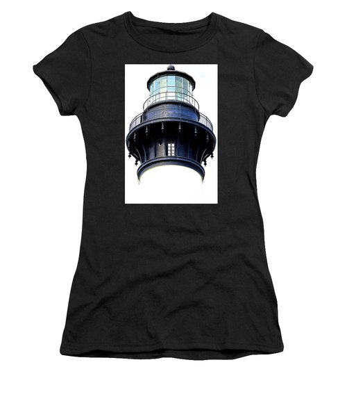 Top Of The Lighthouse Women's T-Shirt (Junior Cut) by Shelia Kempf
