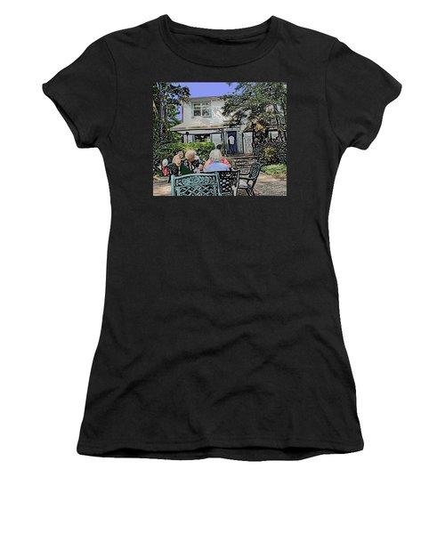 Toronto Island Restaurant Women's T-Shirt (Junior Cut) by Ian  MacDonald