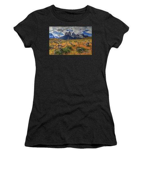 Torres Del Paine 18 Women's T-Shirt (Athletic Fit)
