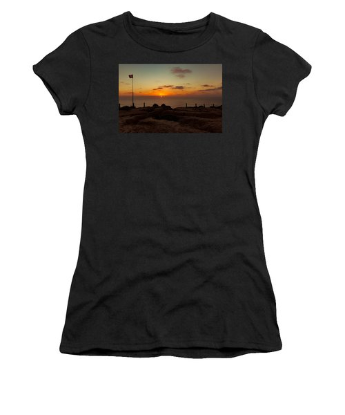 Torrey Pine Glider Port Sunset Women's T-Shirt
