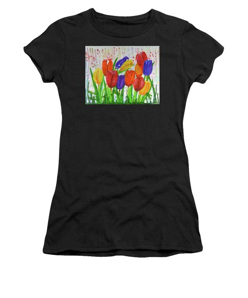 Totally Tulips Women's T-Shirt