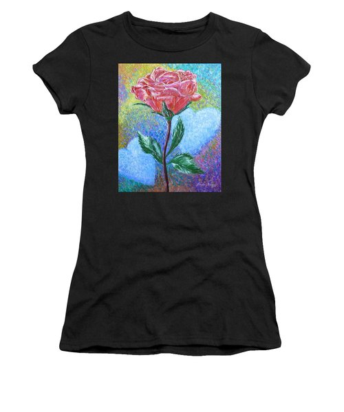 Touched By A Rose Women's T-Shirt