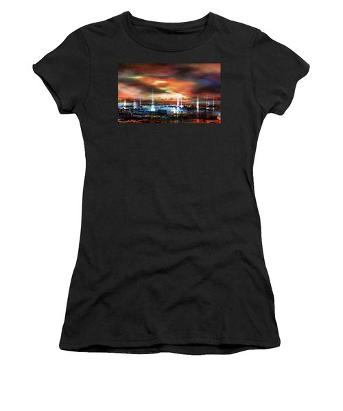 Touch By The Sunset Women's T-Shirt