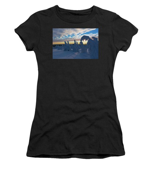 Touched From The Winter Sun Women's T-Shirt (Athletic Fit)