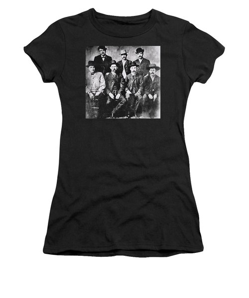 Tough Men Of The Old West Women's T-Shirt (Athletic Fit)