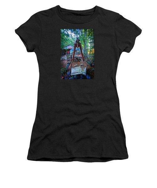 Tow No More Women's T-Shirt (Junior Cut) by Alan Raasch