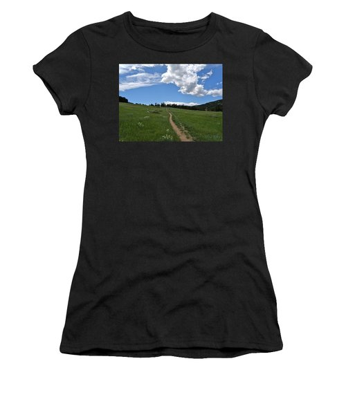 Towards The Sky Women's T-Shirt (Athletic Fit)