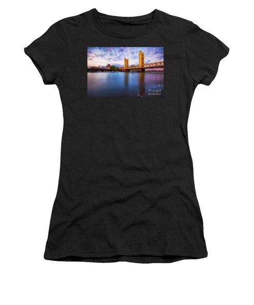 Tower Bridge Sacramento 3 Women's T-Shirt