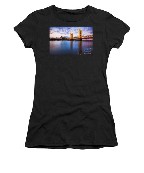 Tower Bridge Sacramento 3 Women's T-Shirt (Athletic Fit)