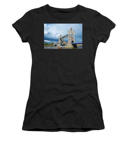 Women's T-Shirt featuring the photograph Tower Bridge by Stewart Marsden