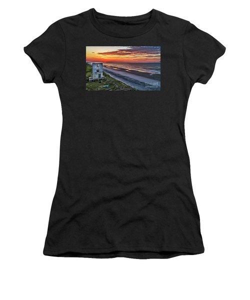 Tower Sunrise Women's T-Shirt (Athletic Fit)