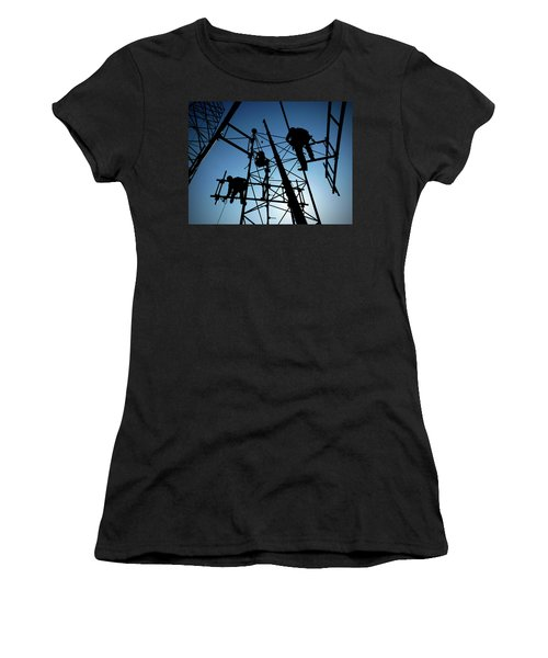 Tower Tech Women's T-Shirt (Athletic Fit)