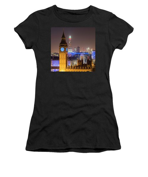 Towers Of London Women's T-Shirt (Athletic Fit)