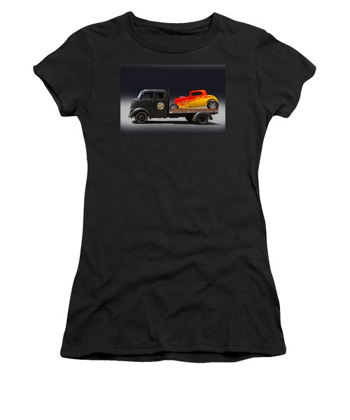 Towing Hot Rod Women's T-Shirt