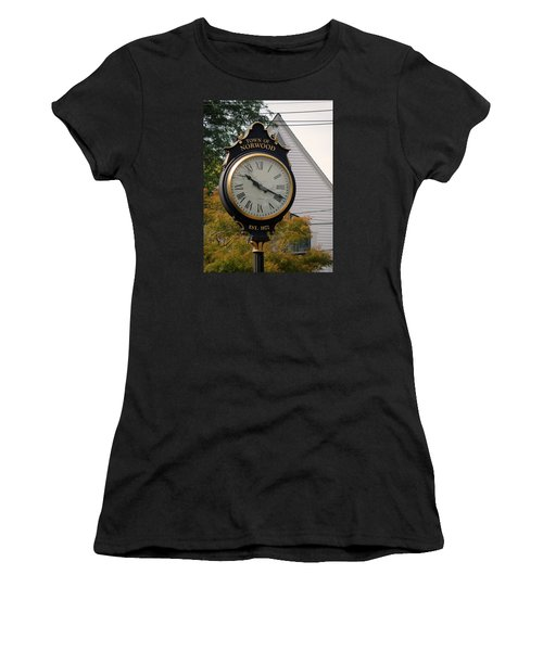 Town Landmark Women's T-Shirt (Athletic Fit)