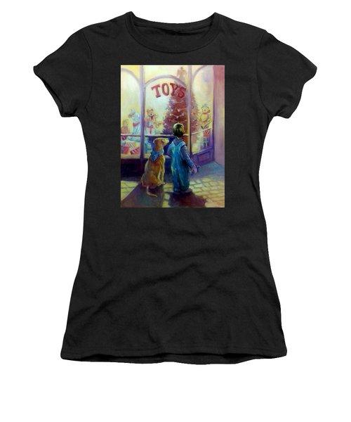 Toy Shop Women's T-Shirt (Athletic Fit)