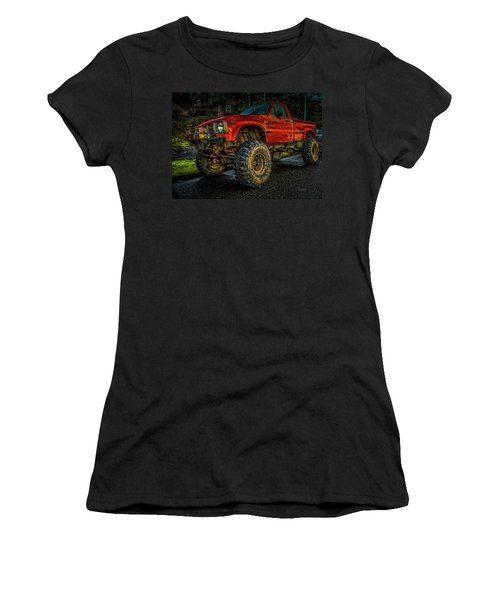 Toyota Grunge Women's T-Shirt (Athletic Fit)