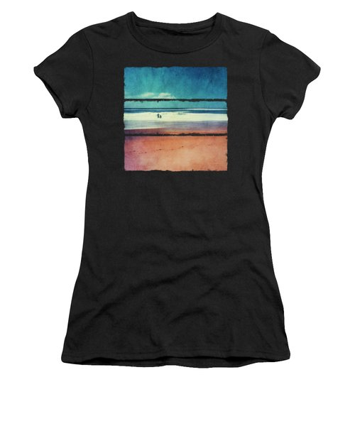 Traces In The Sand Women's T-Shirt