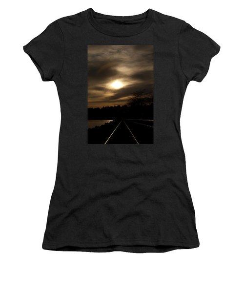 Tracking The Sun Women's T-Shirt