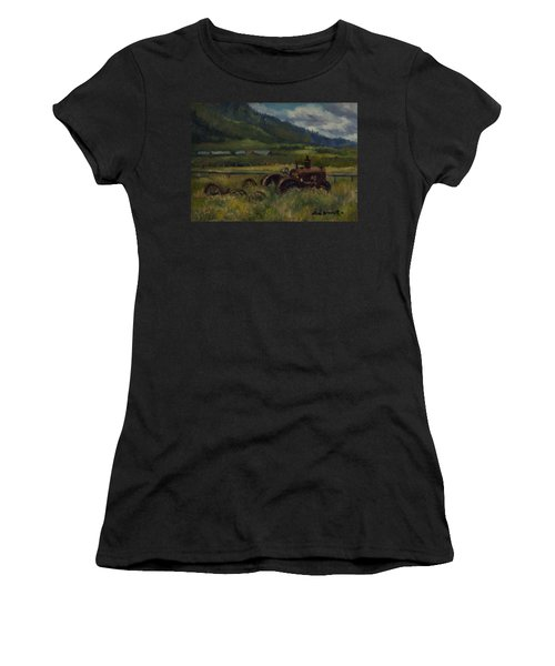 Tractor From Swan Valley Women's T-Shirt