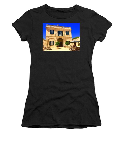 Traditional Menorcan Farmhouse Women's T-Shirt (Athletic Fit)