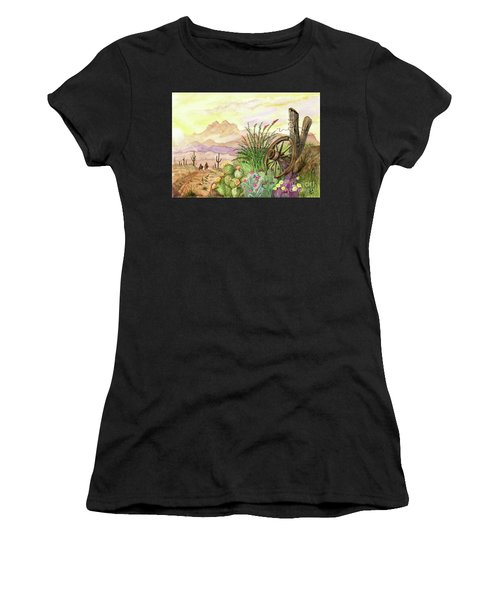 Trail At Sunrise Women's T-Shirt