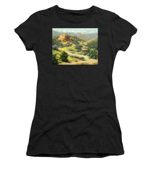 Trails Of Vasquez Canyon Women's T-Shirt (Athletic Fit)