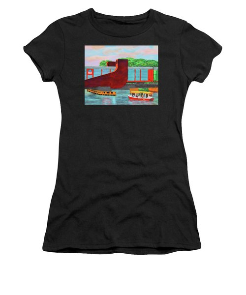 Train Over The New River Women's T-Shirt