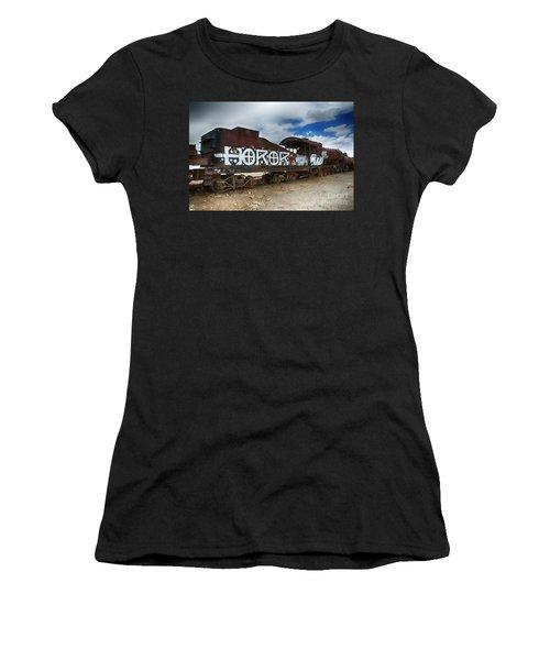 Train Graveyard Uyuni Bolivia 13 Women's T-Shirt (Athletic Fit)