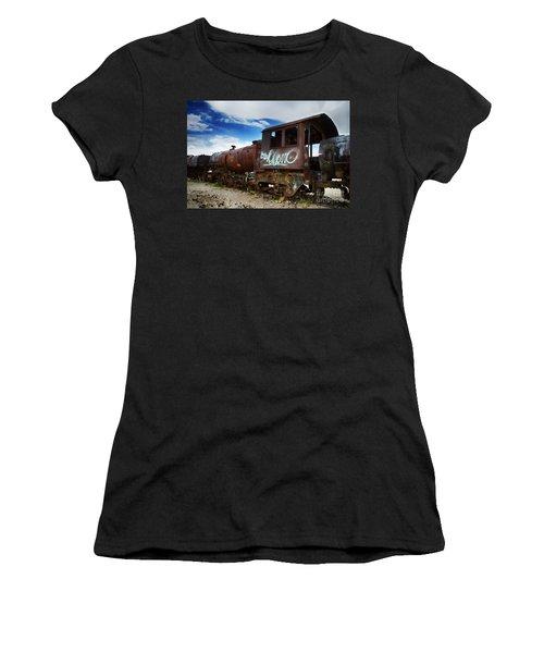 Train Graveyard Uyuni Bolivia 16 Women's T-Shirt (Athletic Fit)