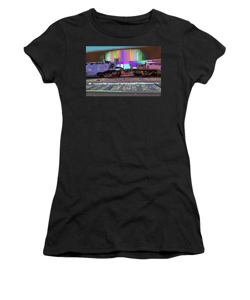 Train Parked Women's T-Shirt
