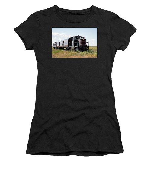 Train Tour Women's T-Shirt (Athletic Fit)