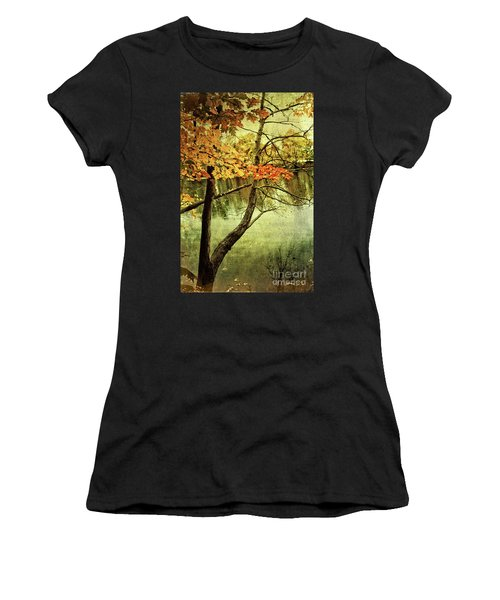 Tranquil Autumn Day Women's T-Shirt (Athletic Fit)