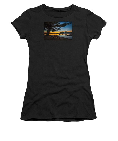 Tranquility At Sunset Women's T-Shirt