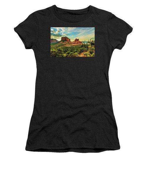 Transept Mountains 04-131 Women's T-Shirt