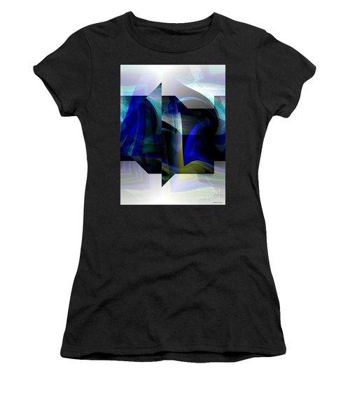 Geometric Transparency  Women's T-Shirt (Junior Cut) by Thibault Toussaint