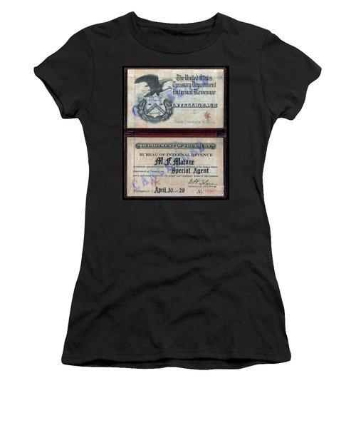 Treasury Agent Id Women's T-Shirt
