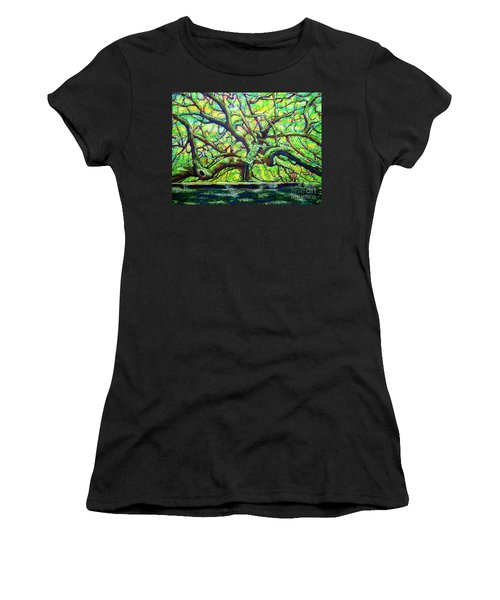Treaty Oak /part Two/ Women's T-Shirt (Athletic Fit)