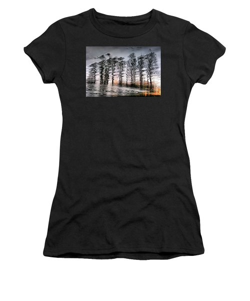 Tree And Reflection Women's T-Shirt