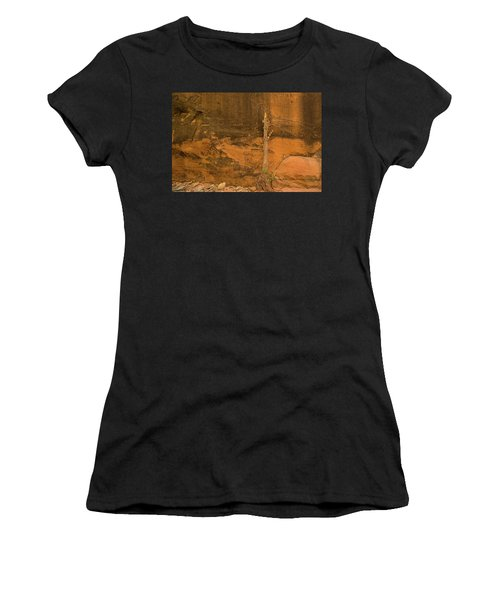 Tree And Sandstone Women's T-Shirt (Athletic Fit)