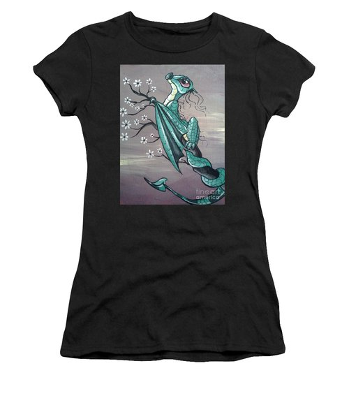 Tree Dragon II Women's T-Shirt (Athletic Fit)