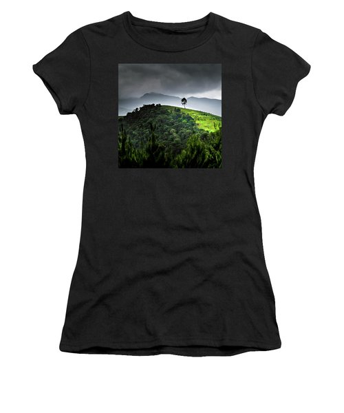 Tree In Kilimanjaro Women's T-Shirt