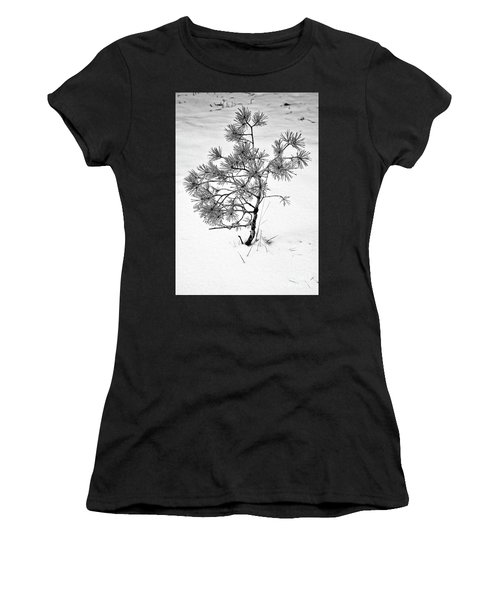 Tree In Winter Women's T-Shirt